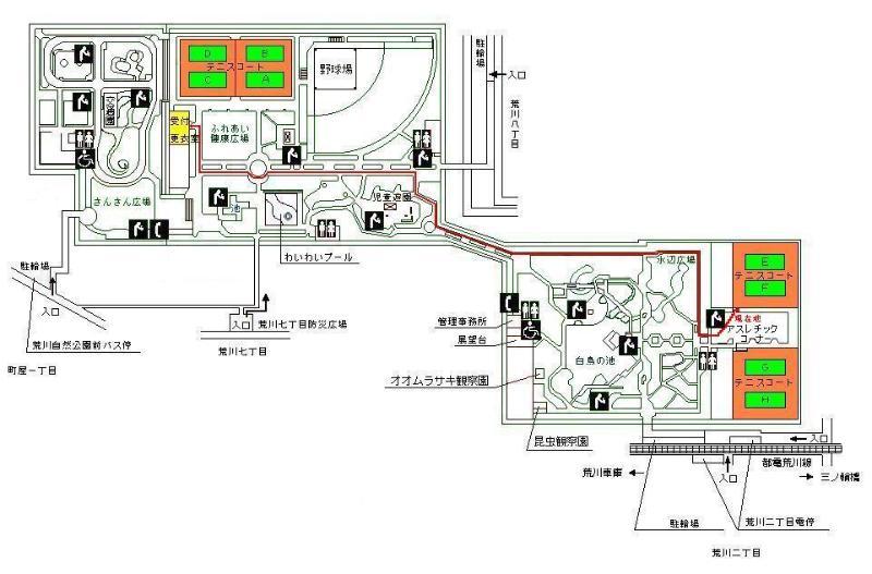 arakawashizenkoen-map