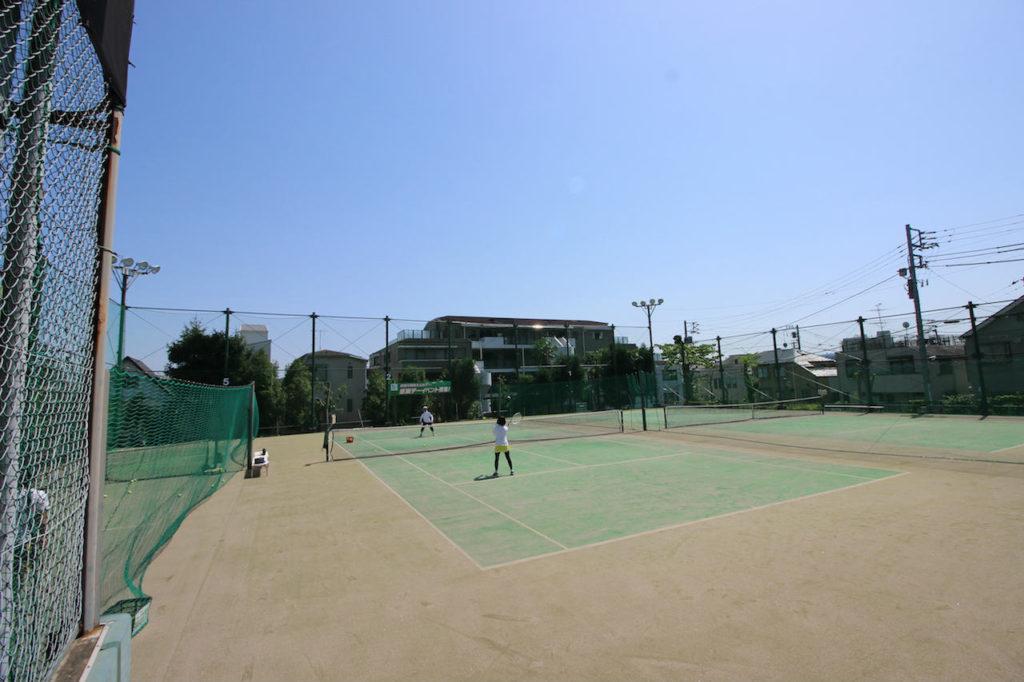 目黒テニスクラブ 貸しコート