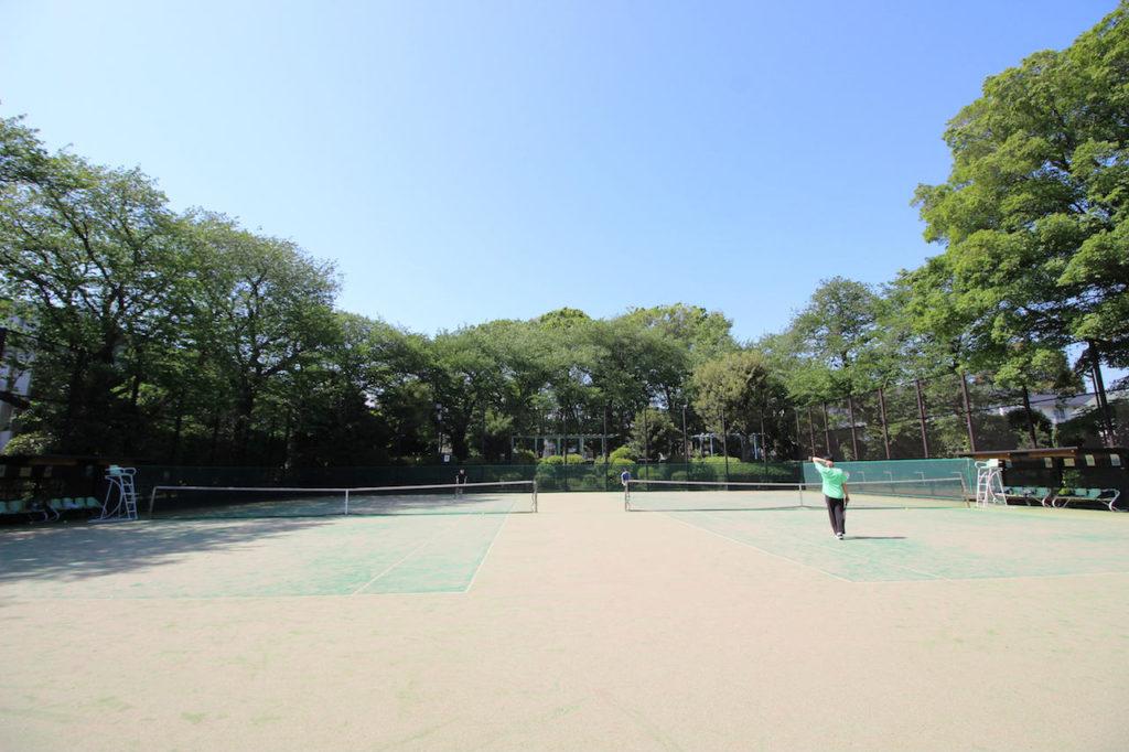 宮前公園 テニスコート1