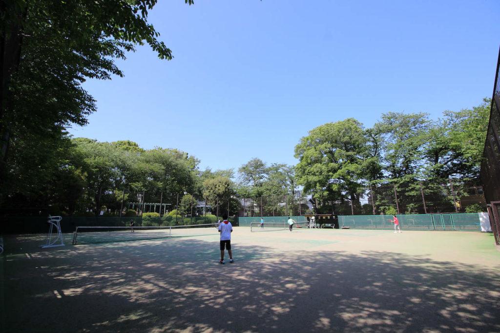 宮前公園 テニスコート2