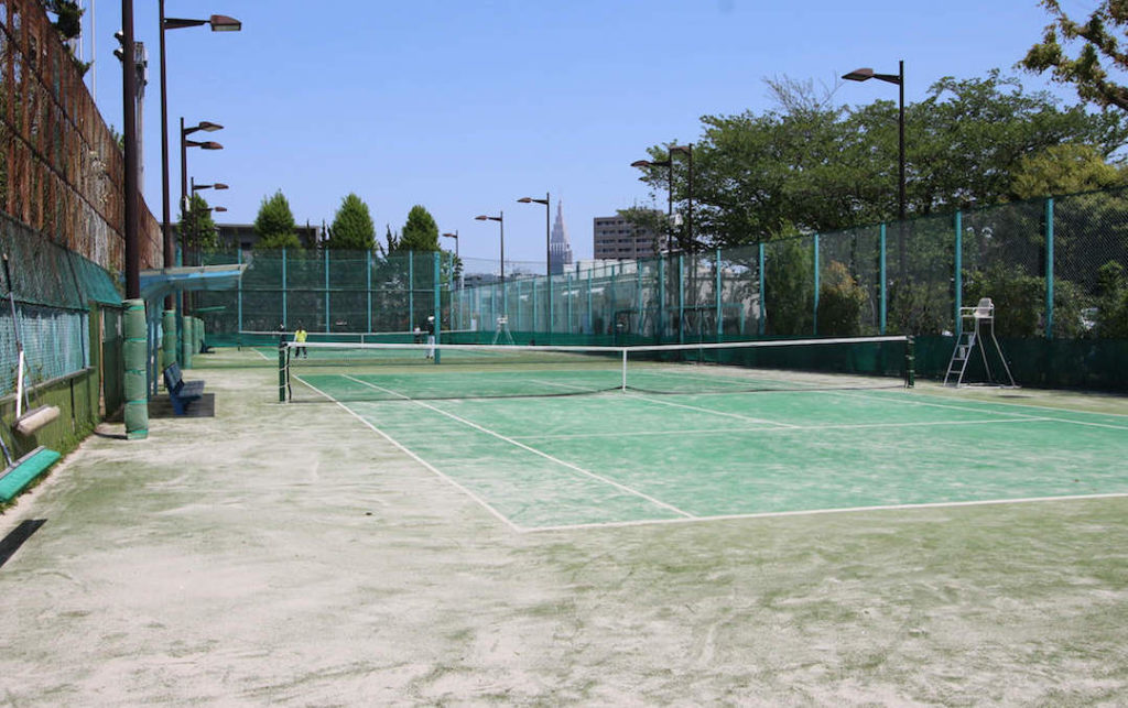 代々木西原公園テニスコート2