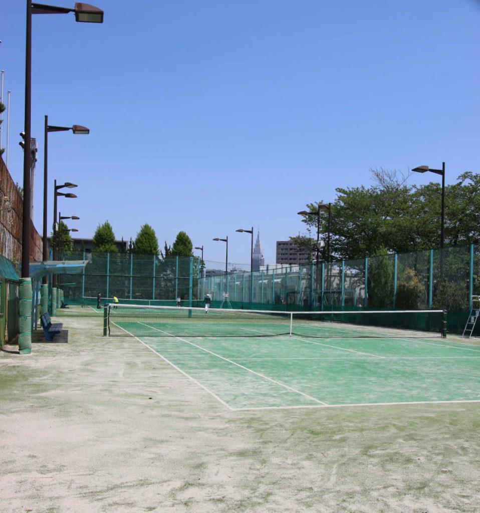 代々木西原公園テニスコート3