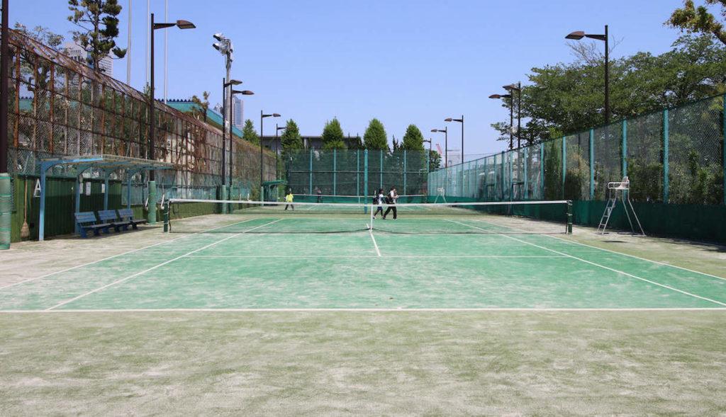 代々木西原公園テニスコート1