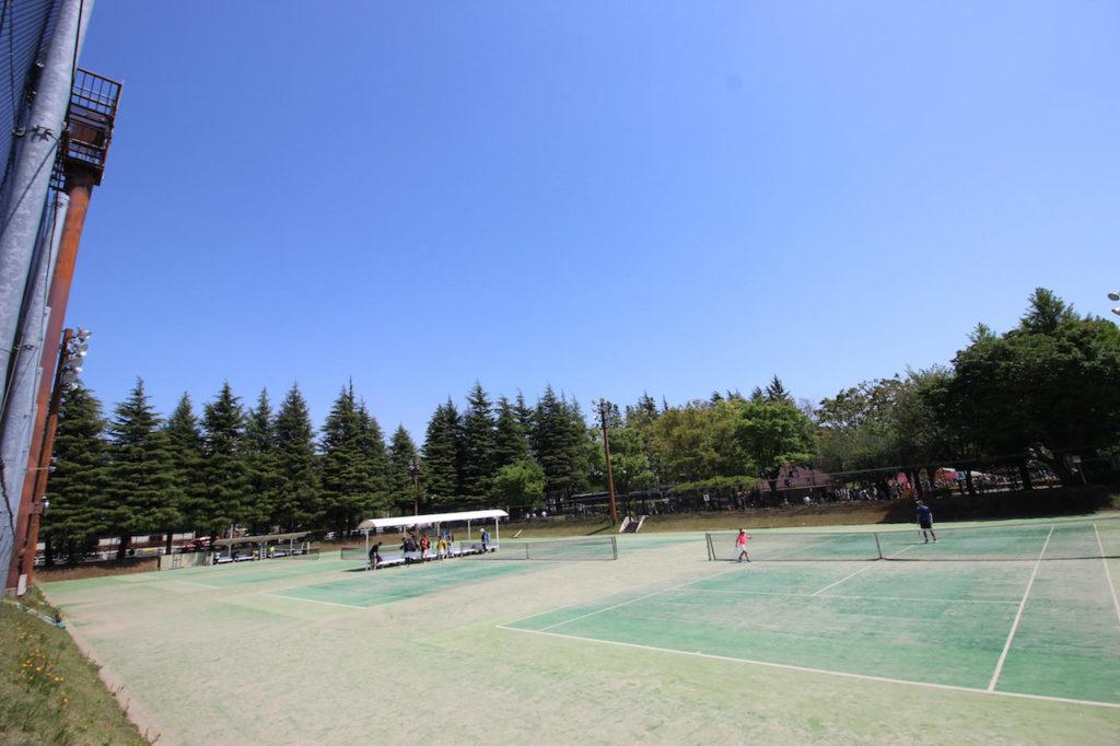 世田谷公園テニスコート1