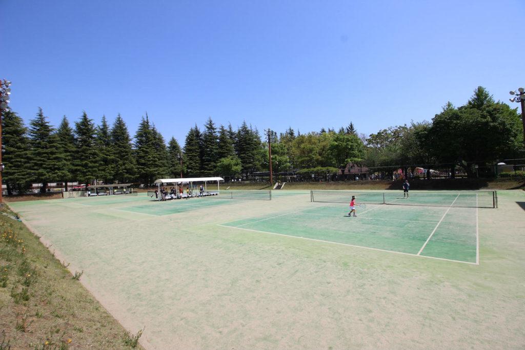 世田谷公園テニスコート3