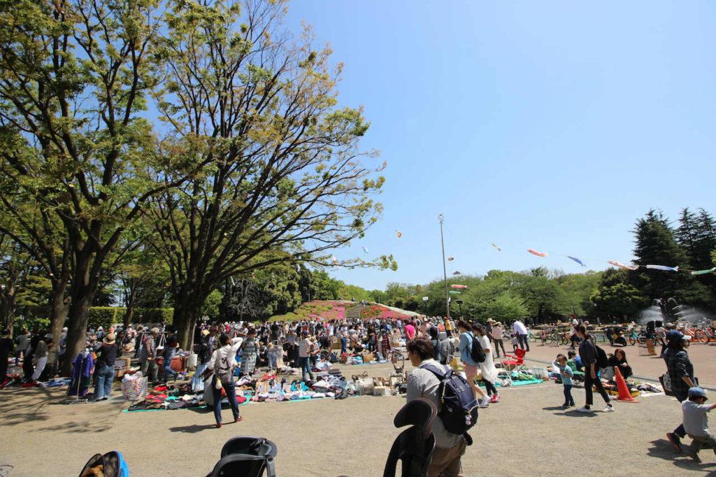 世田谷公園 フリーマーケット