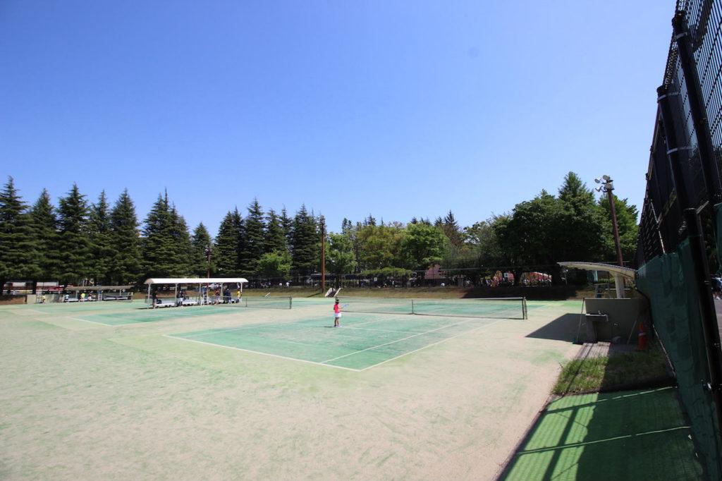 世田谷公園テニスコート2